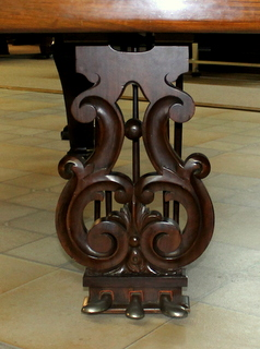 Chickering lyre
