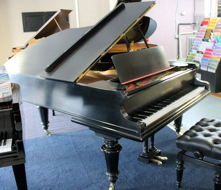 C. Bechstein Model V in Ebony Satin