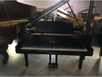 Vintage Steinway and Sons Grand in Satin Ebony