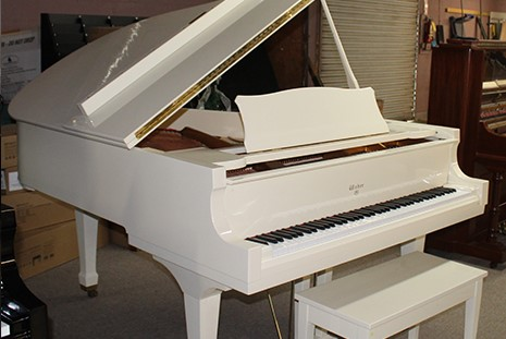 Weber Grand in High-Polish Ivory