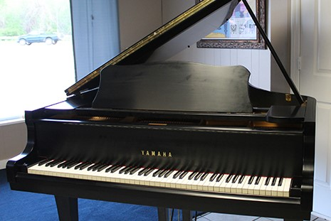 Yamaha Grand in Satin Ebony